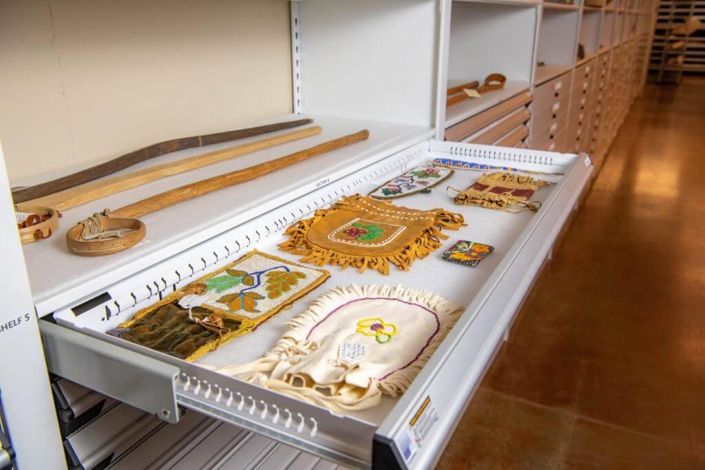 Artifact Storage Drawers